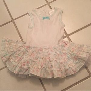 Other - Cute baby dress with built in tutu, size 3-6 month